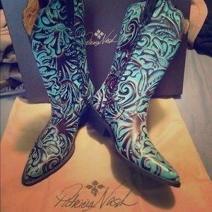 d82c4d3c822 Patricia Nash Shoes | Bergamo Boots Whiskey Leather 95m | Poshmark